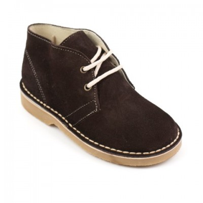 134020F Brown Suede Desert Boot