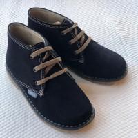 403 Angelitos Navy Suede Desert Boots