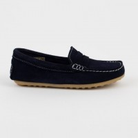 4407-G Nens Navy Suede Loafer