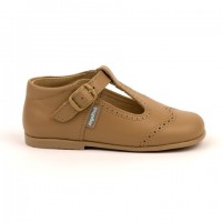 507 Camel Leather T-Bar