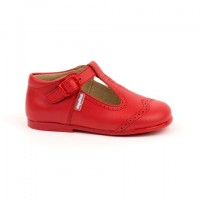 507 Red Leather T-Bar