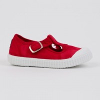 20410 Nens Red Distressed Canvas T-Bars