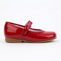 4638 Red Patent Mary Jane