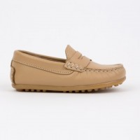 4407-G Nens Camel Leather Loafer