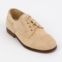 Suede Lace up Brogue
