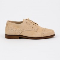 360.848 Camel Suede Lace up Brogue