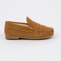 TI106 Tan Suede Loafer