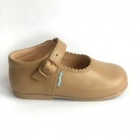 500 Camel Leather Mary Jane