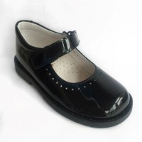 Patent Mary Jane School Shoe