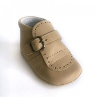 Leather Buckle Pram Boot