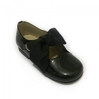 4923 Black Patent Bow Mary Jane