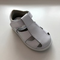 24100 Xiquets White Leather Sandals