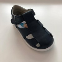 24100 Xiquets Navy Leather Sandals