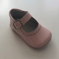 PI-101513 Pink Patent Mary Jane Pram Shoe