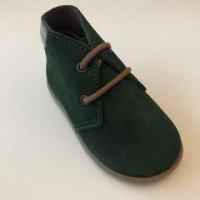 40201 Xiquets Green Suede Desert Boots