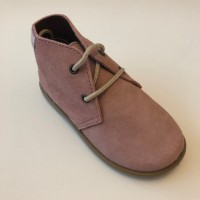 40201 Xiquets Pink Suede Desert Boots