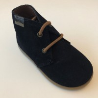 40201 Xiquets Navy Suede Desert Boots