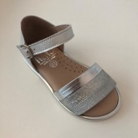 5445-M Silver Sandal (closed back) Size 19-26
