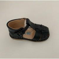 539 Navy Spider Sandal