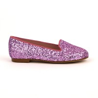 Katia Pink Glitter Slipper Shoe
