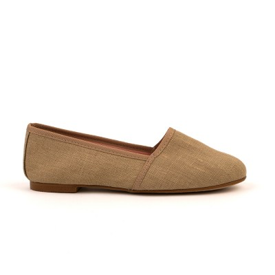 Casio Taupe Canvas Slipper