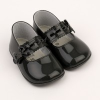 Patent Mary Jane Pram Shoe