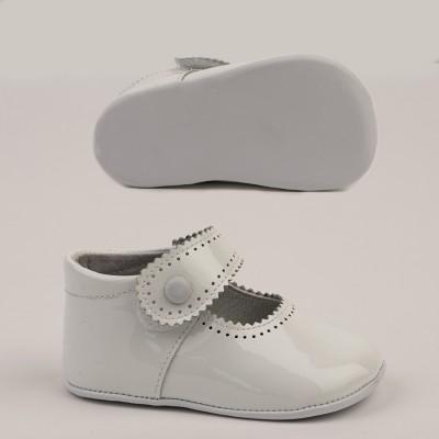 Patent Mary Jane Pram Shoe
