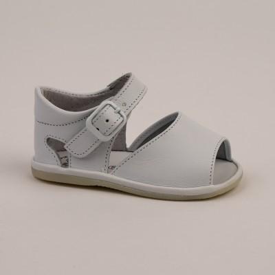 8093 - Red Open Toe Pram Sandal