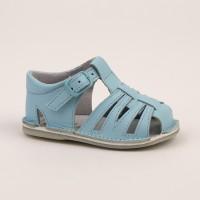 8253 - Pale Blue Spider Pram Sandal