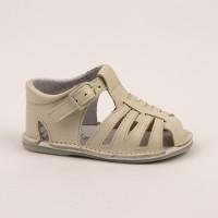 8253 - Beige Spider Pram Sandal