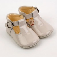Patent T-Bar Pram Shoe