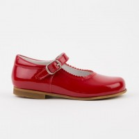 1554 Red Patent Mary Jane