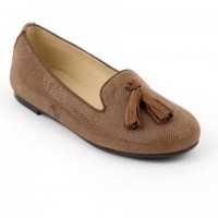 Slipper Loafer with Suede Tassel