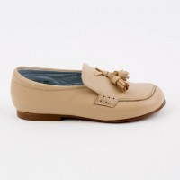 13200 Camel Leather Tassel Loafer