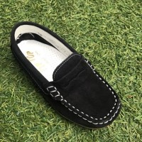 514 Navy Suede Loafer