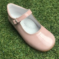 1554 Dusty Pink Patent Mary Jane